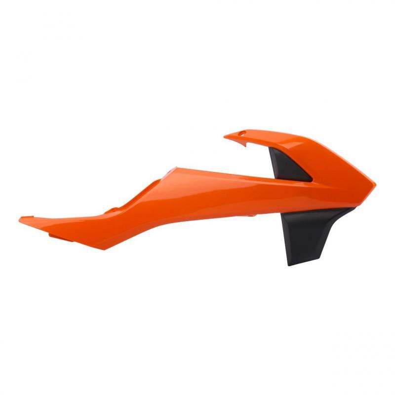 Ouïes de radiateur Polisport KTM 125 EXC 2017 orange fluo
