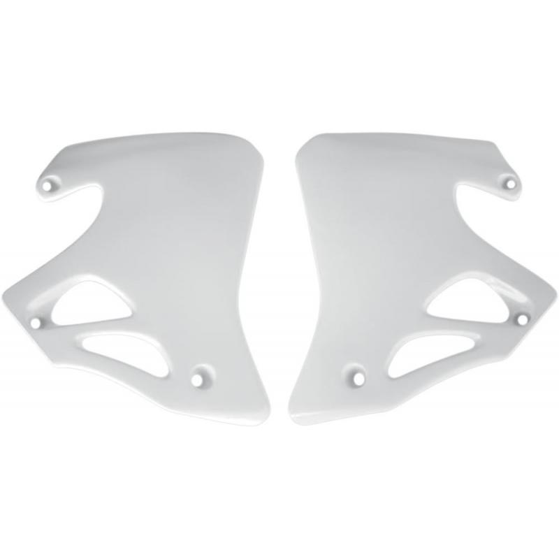Ouïes de radiateur UFO Honda CR 125R 95-97 blanc
