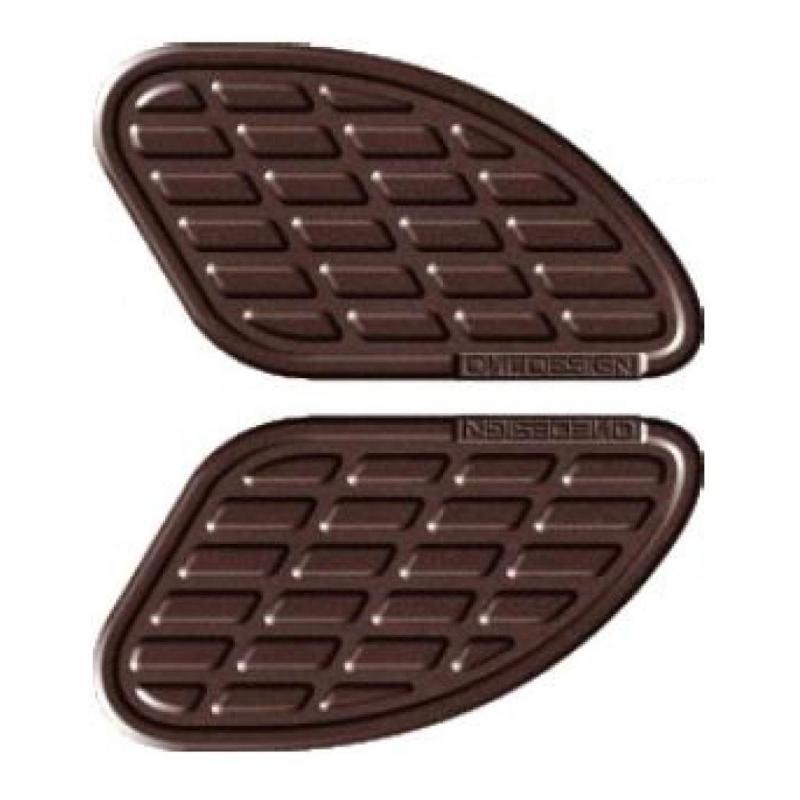 Pad de réservoir Onedesign marron mat 170 x 93,5 mm