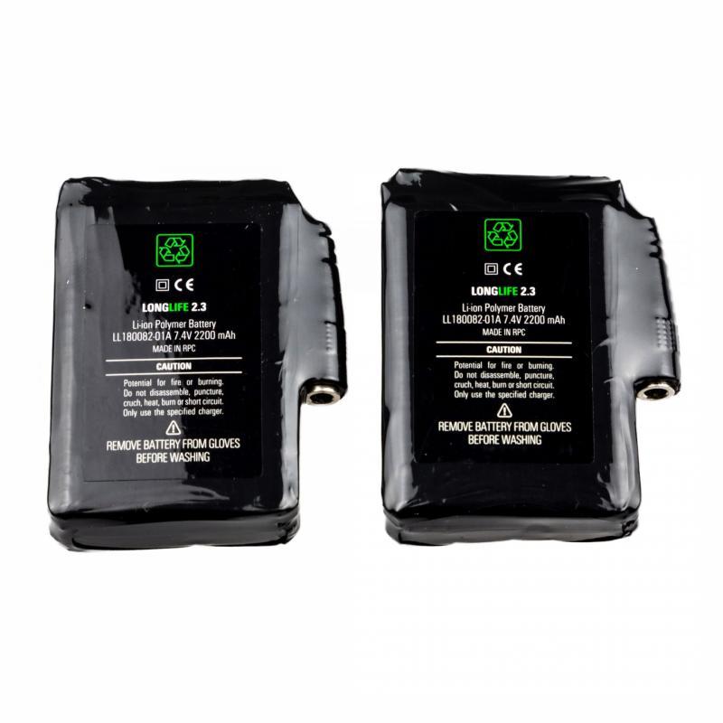 Paire de batteries Racer Lucielabs 2200MAH