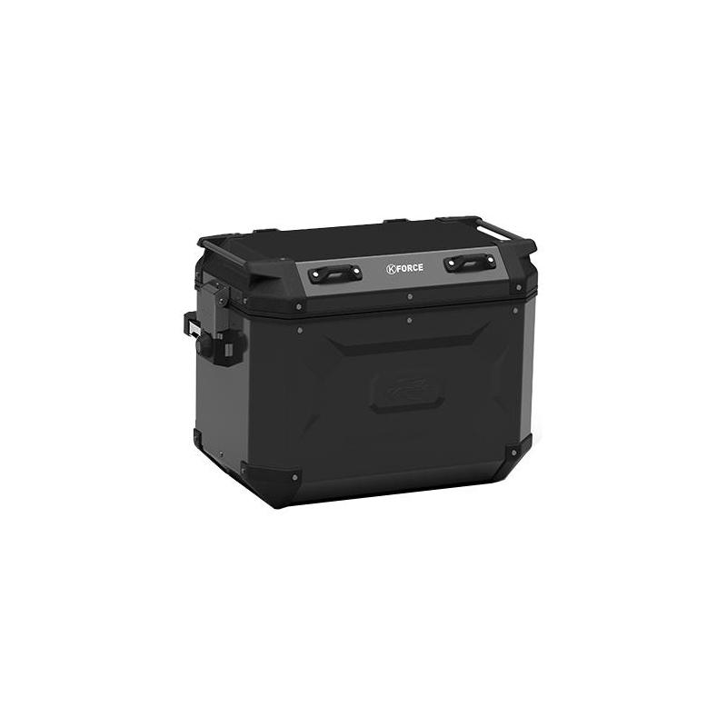 Paire de valises latérales Kappa K'Force 48+48 Litres aluminium noir