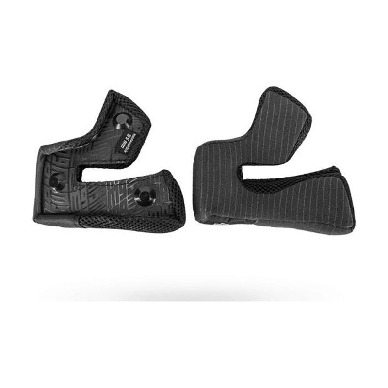 Paires de coussinets de joue pour casque Bell Moto 9 Flex / Moto 9 noir