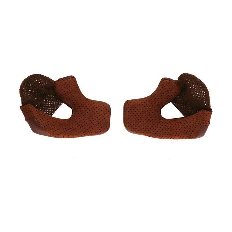 Paires de coussinets de joue pour casque Bell Bullit 40mm brun