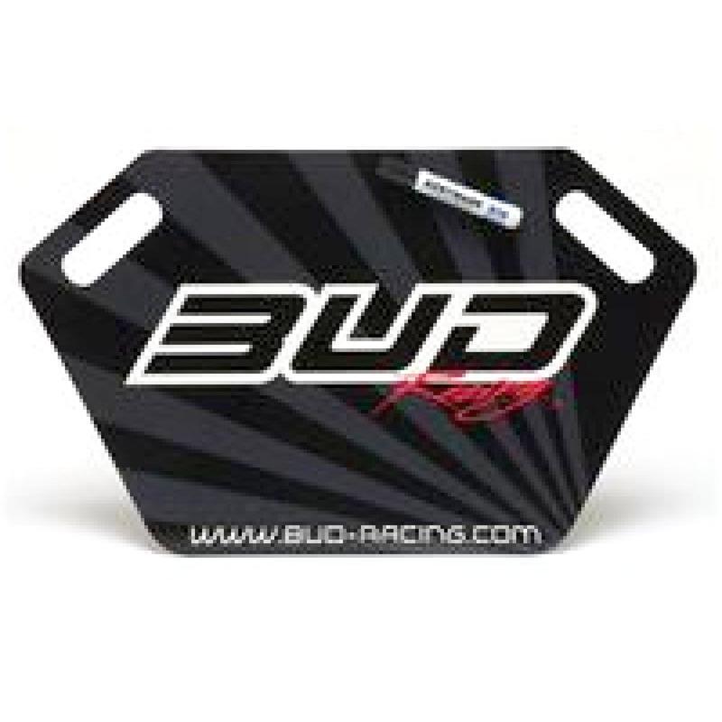 Panneautage Bud Racing noir/gris
