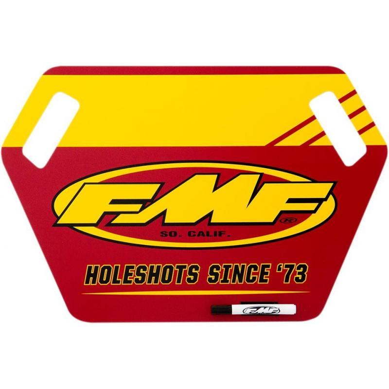Panneautage FMF rouge/jaune