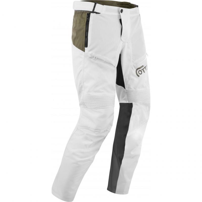 Pantalon Acerbis Ottano Adventuring 2.0 blanc