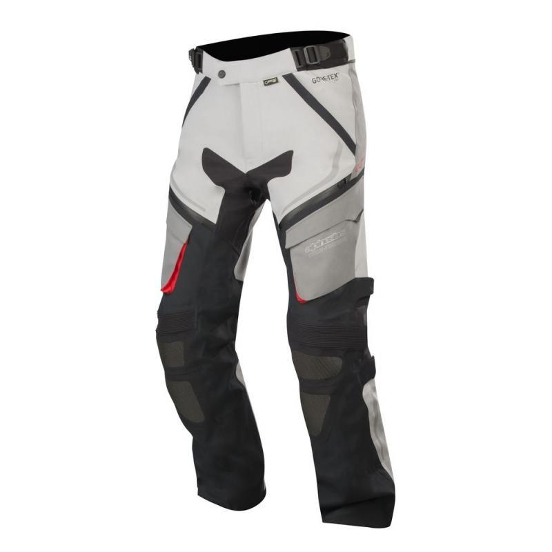 Pantalon Alpinestars REVENANT GORE-TEX gris / rouge