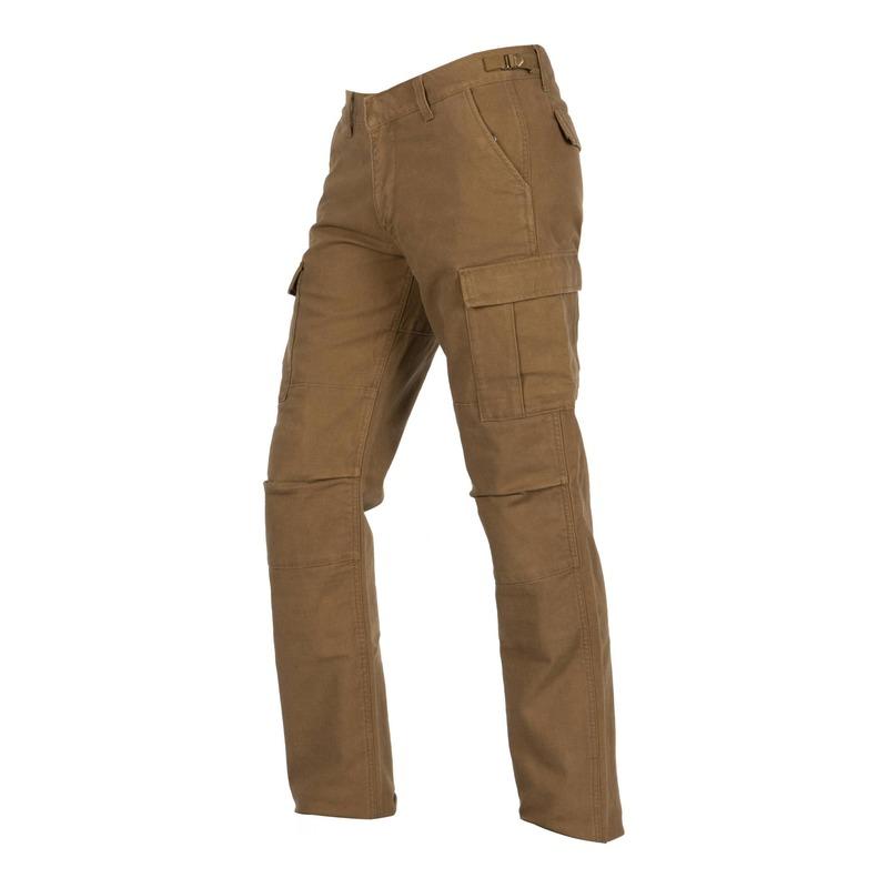 Pantalon cargo textile Helstons Cargo Armalith kaki marron