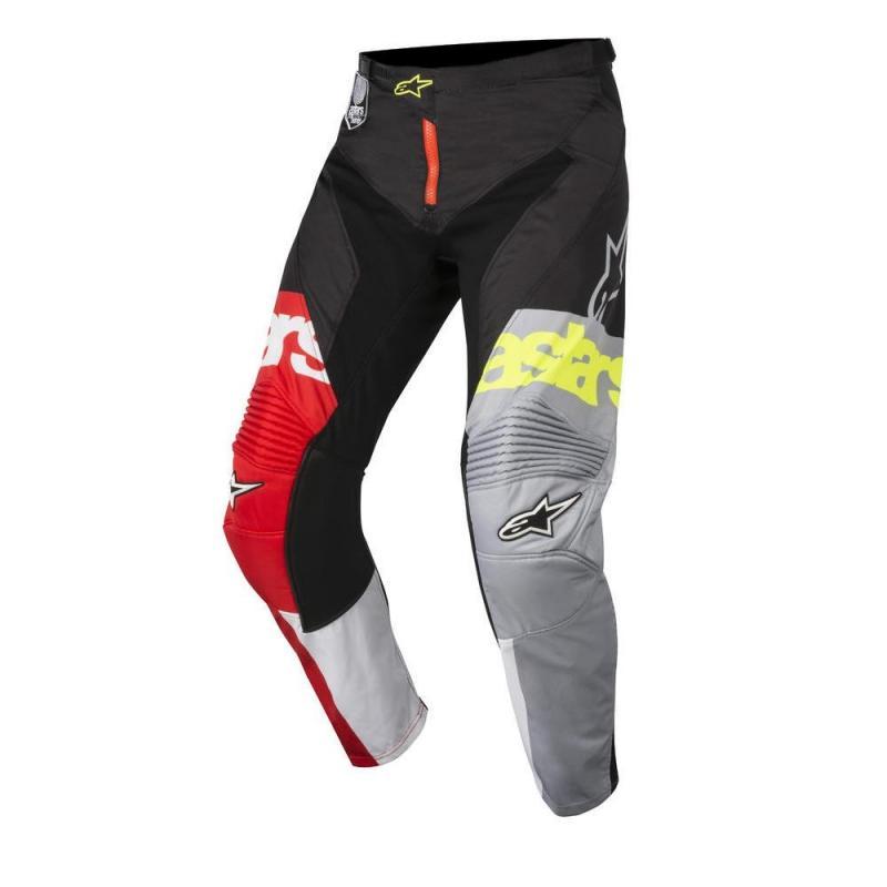 Pantalon cross Alpinestars Racer Flagship rouge/blanc/noir