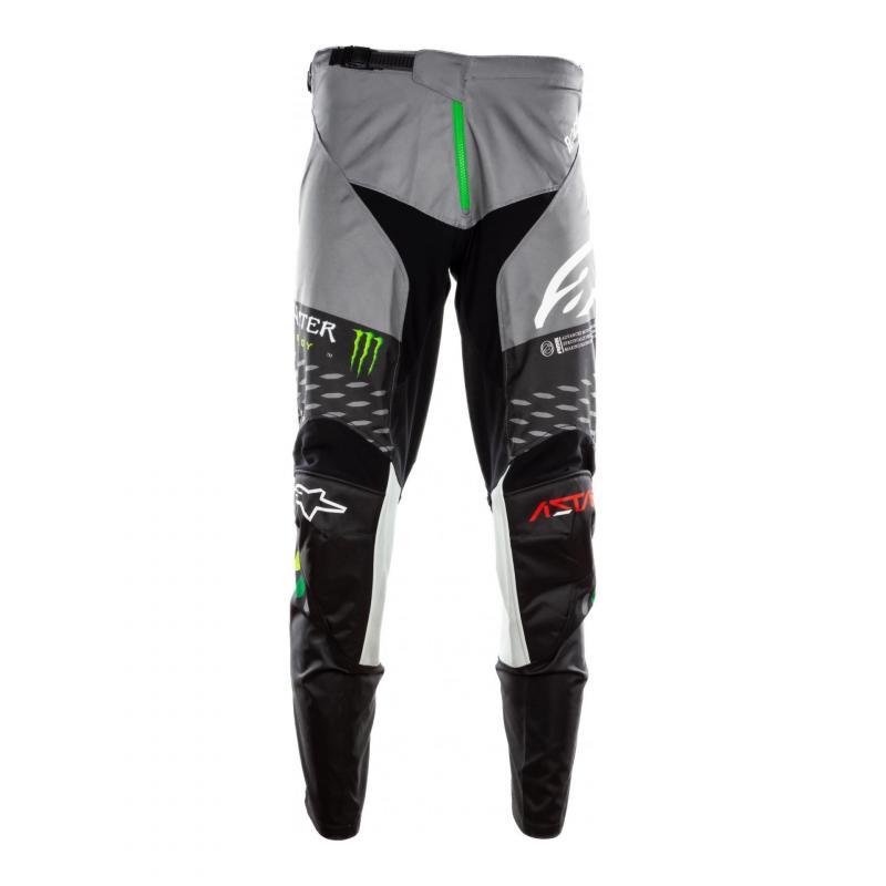 Pantalon cross Alpinestars Racer Raptor Monster noir/gris/vert