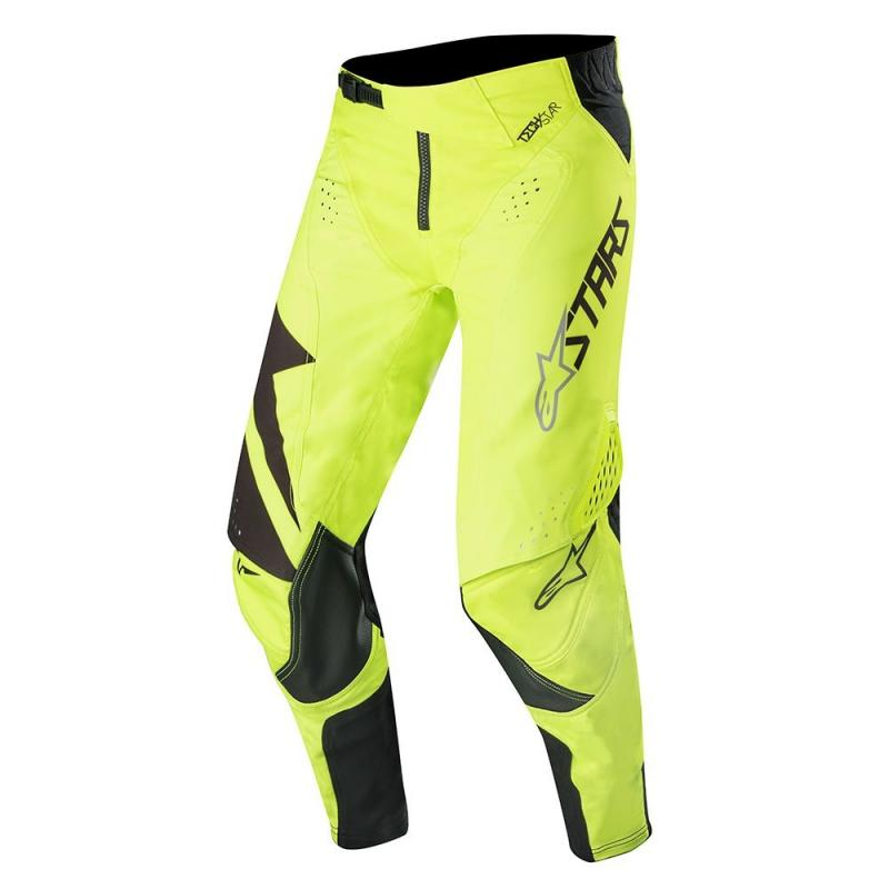 Pantalon cross Alpinestars Techstar Factory jaune fluo/noir