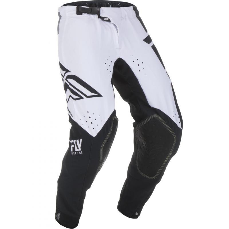 Pantalon cross enfant Fly Racing Evo noir/blanc