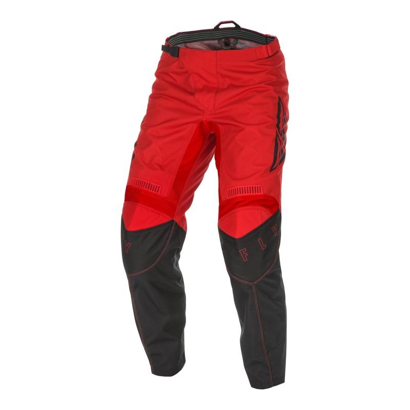 Pantalon cross enfant Fly Racing F-16 rouge/noir