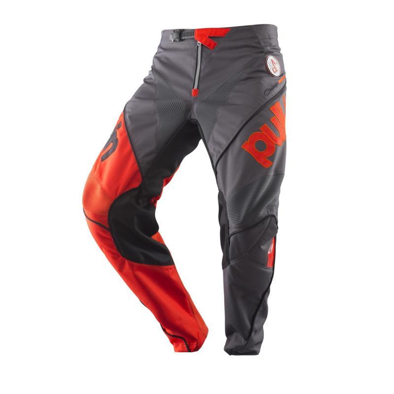 Pantalon cross enfant Pull-in Challenger Race charcoal/orange