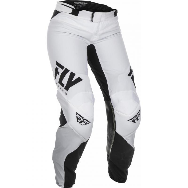 Pantalon cross femme Fly Racing Lite noir/blanc
