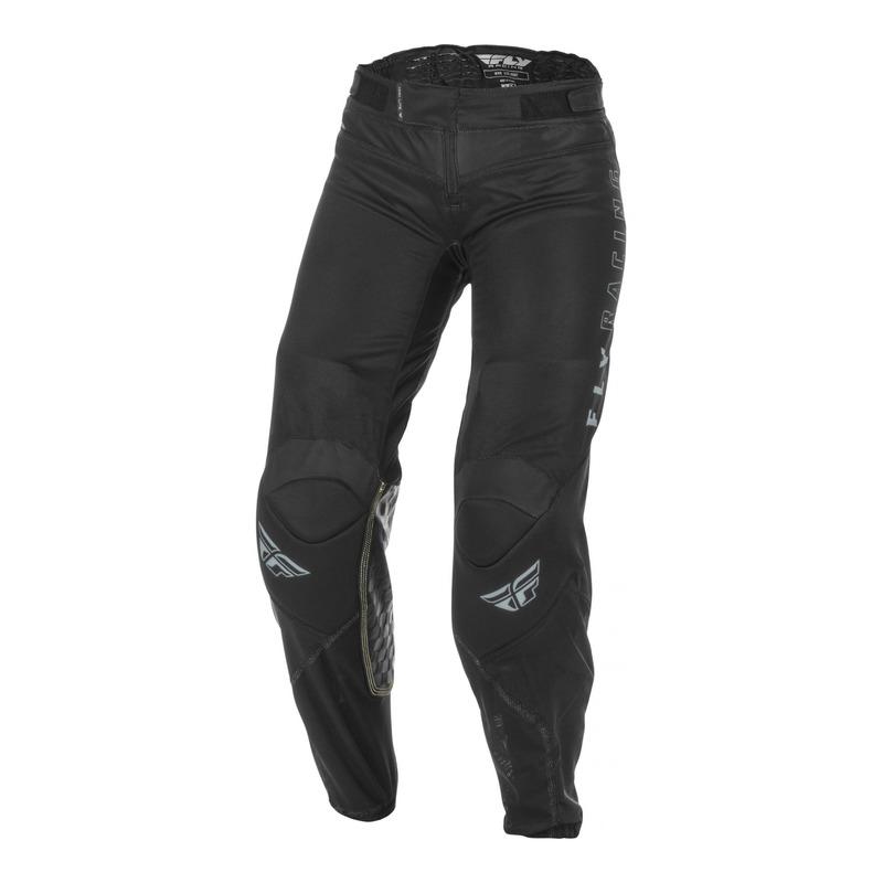 Pantalon cross femme Fly Racing Lite noir/gris