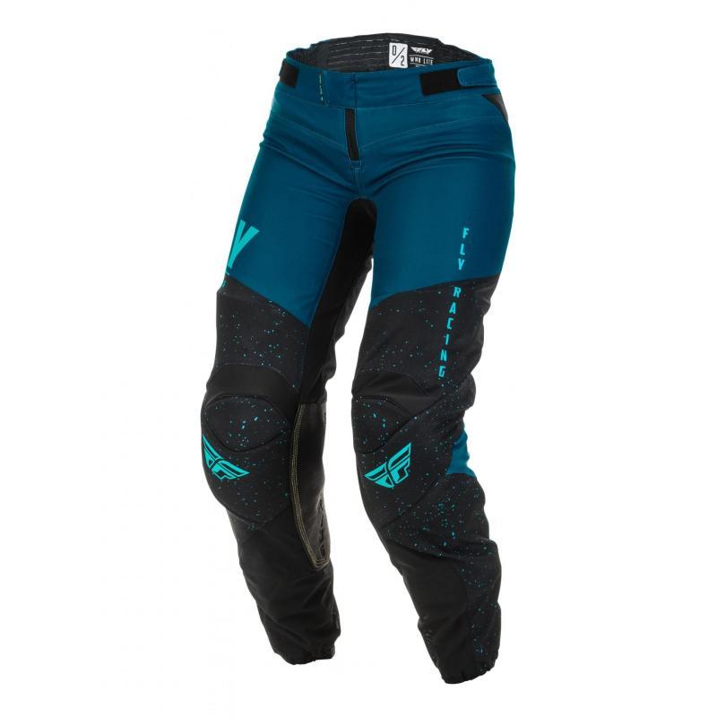 Pantalon cross fille Fly Racing Lite Racewear navy/bleu/noir
