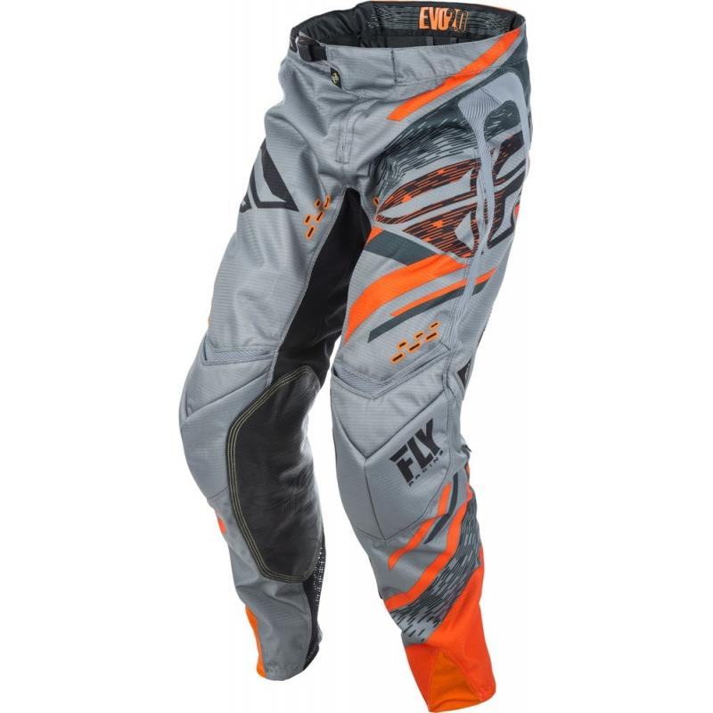 Pantalon cross Fly Racing Evo 2.0 gris/orange