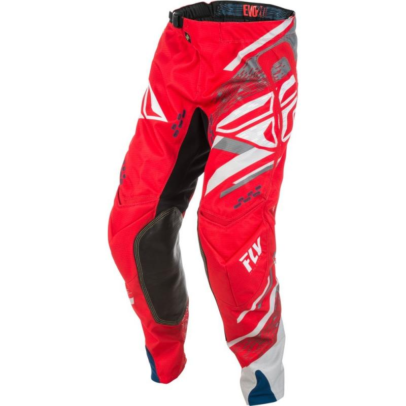 Pantalon cross Fly Racing Evo 2.0 rouge/blanc