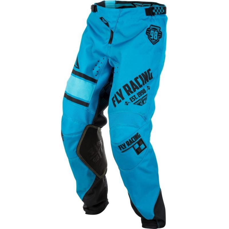 Pantalon cross Fly Racing Kinetic Era bleu