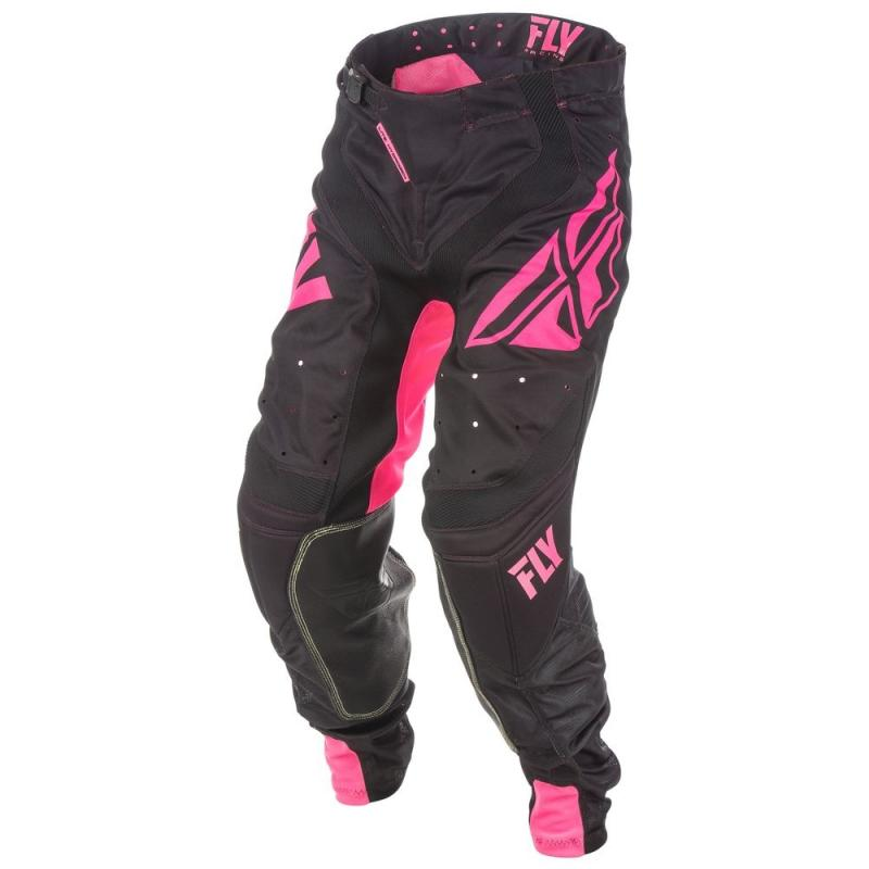 Pantalon cross Fly Racing Lite Hydrogen rose/noir