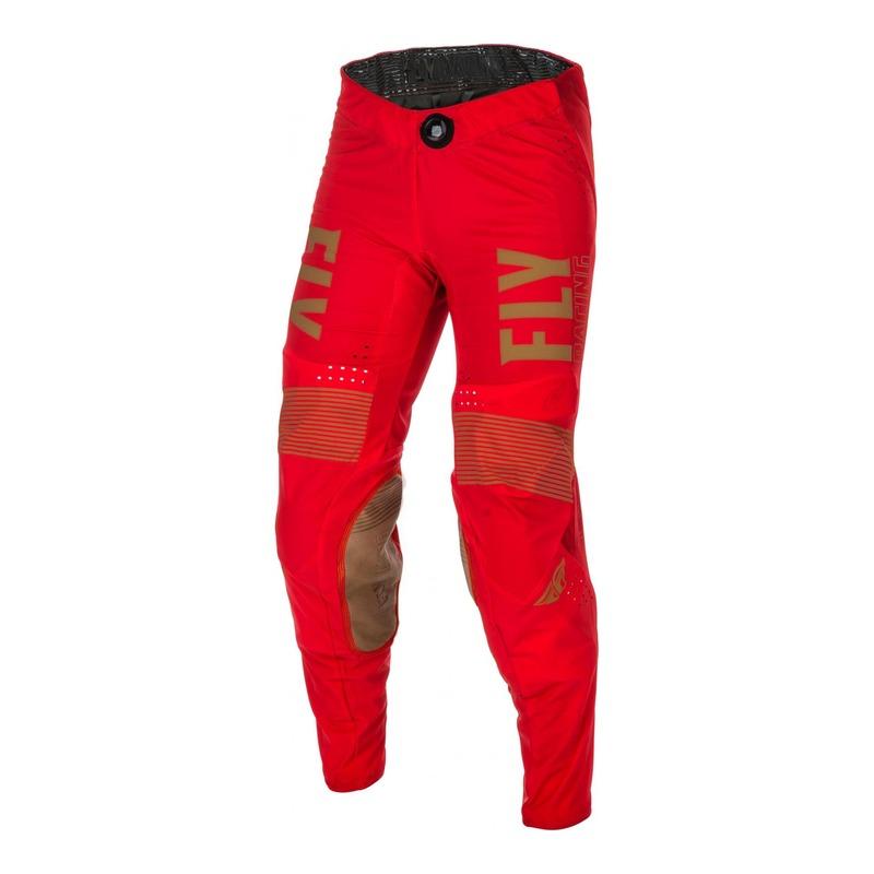 Pantalon cross Fly Racing Lite rouge/kaki