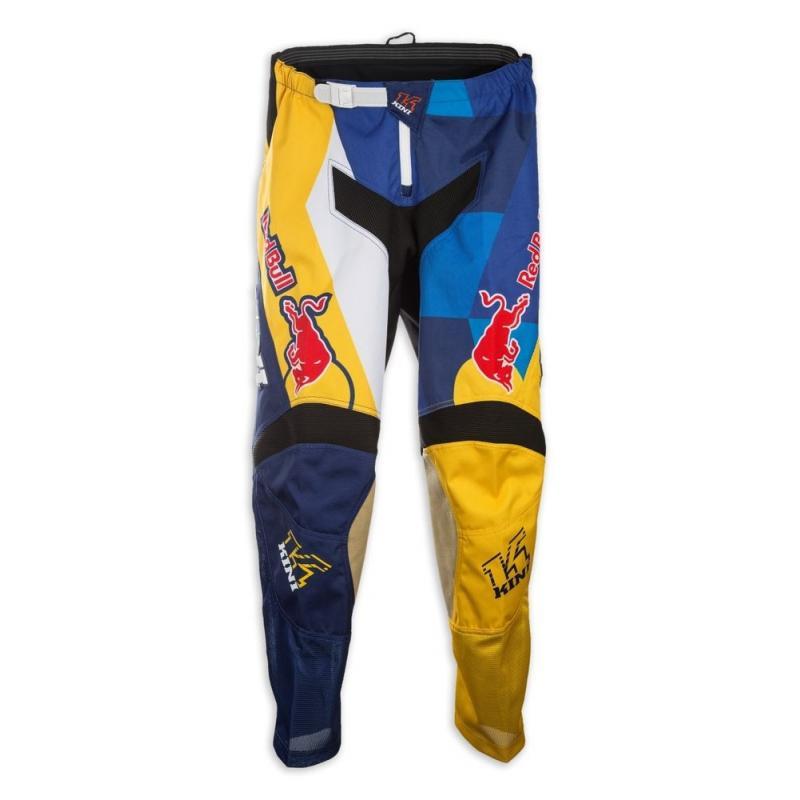 Pantalon cross Kini Red Bull Vintage bleu marine/jaune