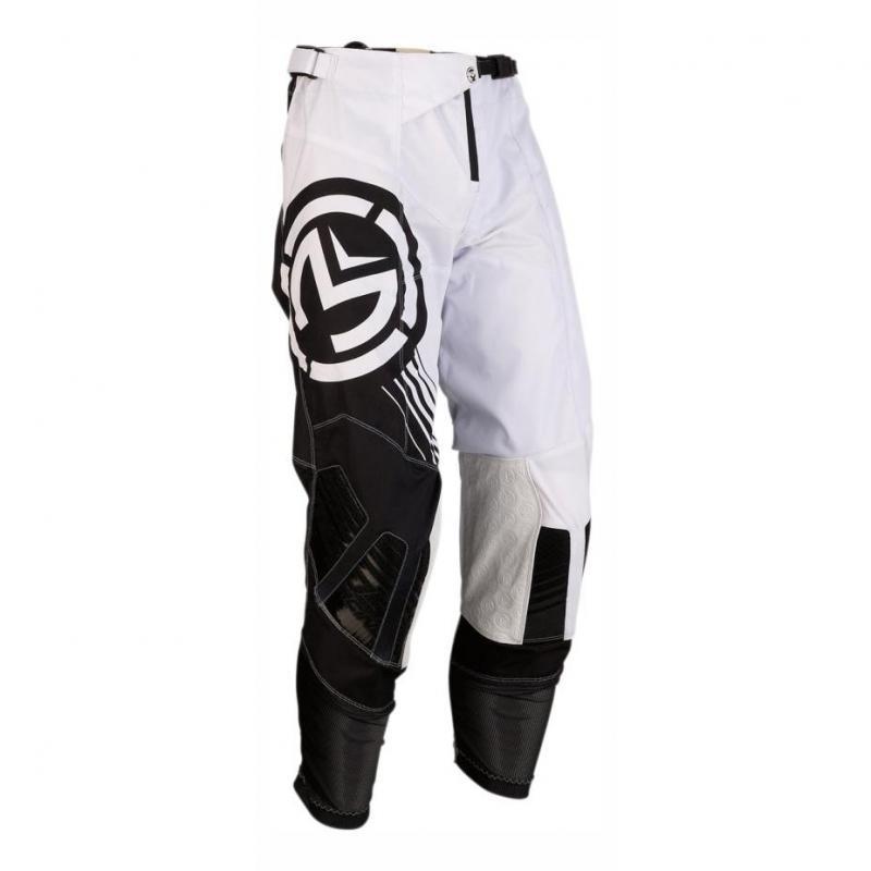 Pantalon cross Moose Racing M1 blanc/noir