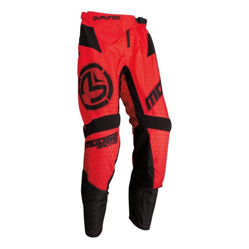 Pantalon cross Moose Racing Qualifier noir/rouge