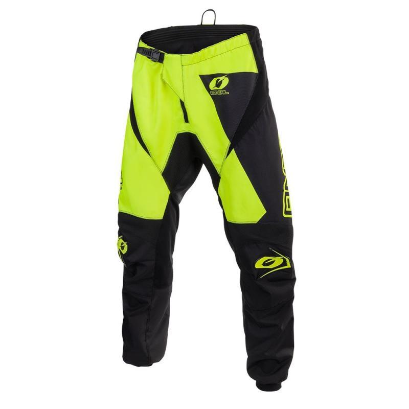 Pantalon cross O'Neal Matrix Ridewear jaune fluo
