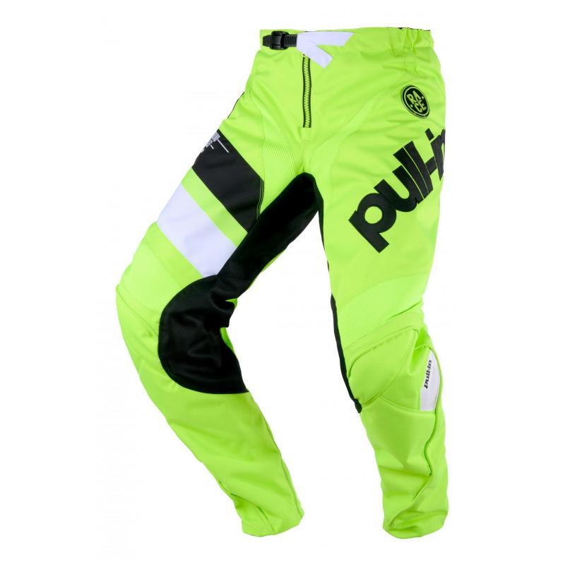 Pantalon cross Pull-in Challenger Race full lime