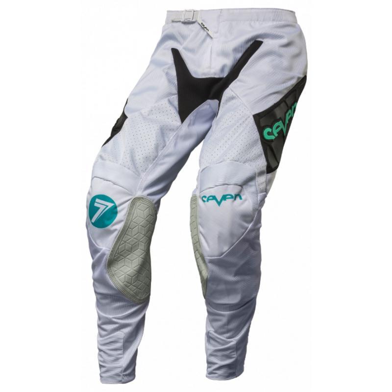 Pantalon cross Seven Rival Venom aqua/noir