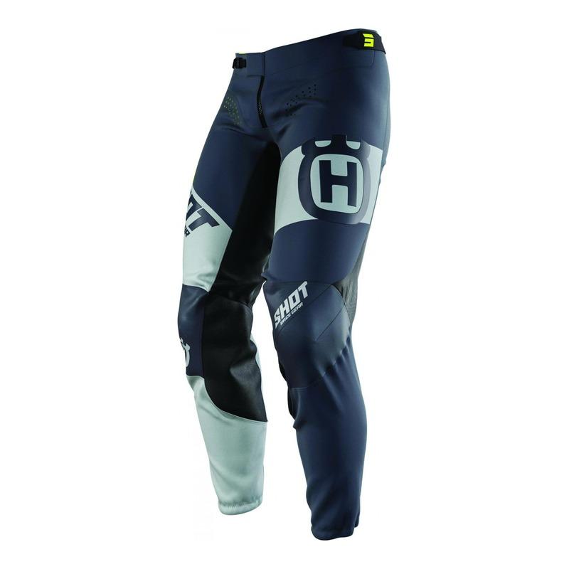 Pantalon cross Shot Aerolite Husqvarna Limited Edition 2021 gris foncé