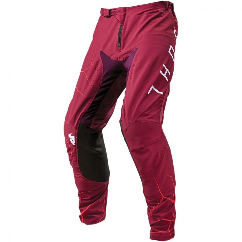 Pantalon cross Thor Prime Pro Infection bordeau