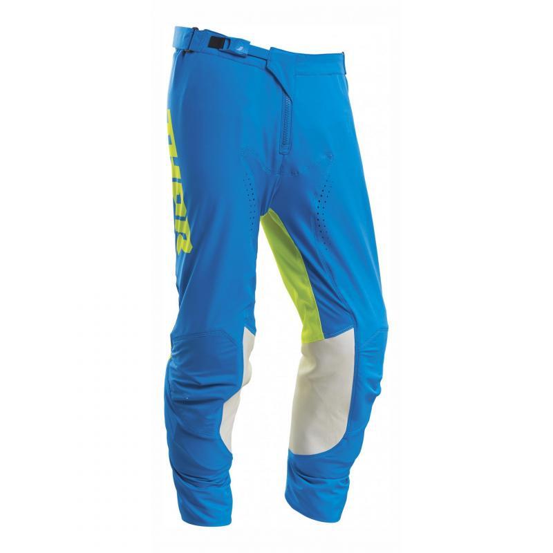 Pantalon cross Thor Prime Pro Strut bleu électrique/acide