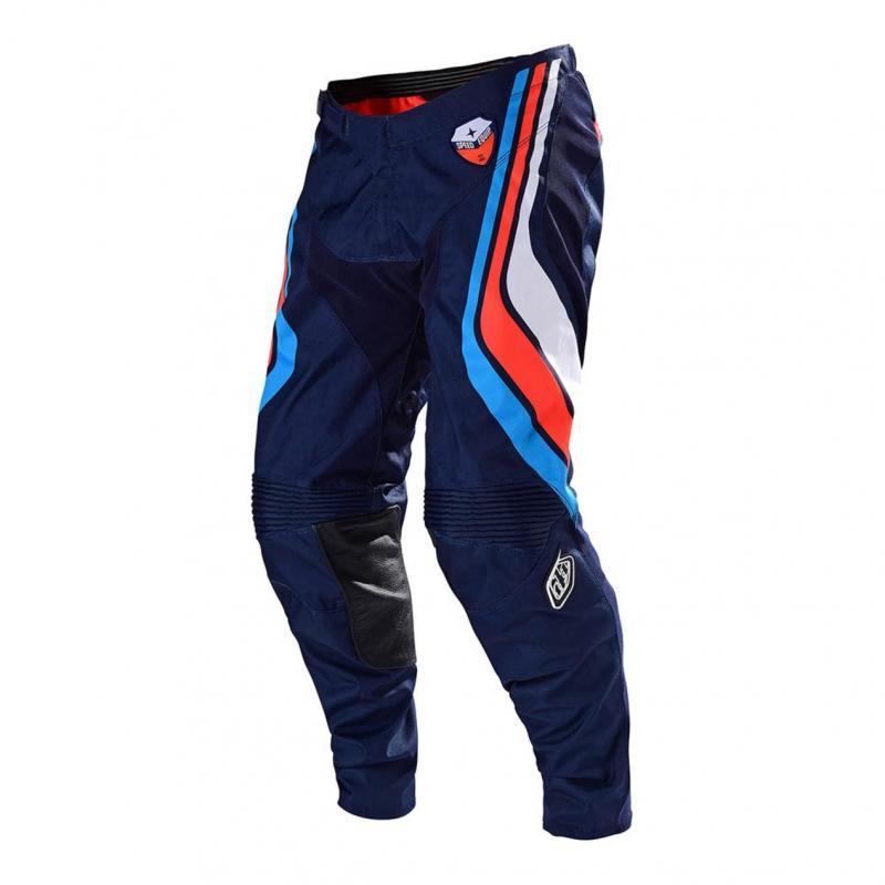 Pantalon cross Troy Lee Designs SE Seca dark navy/orange