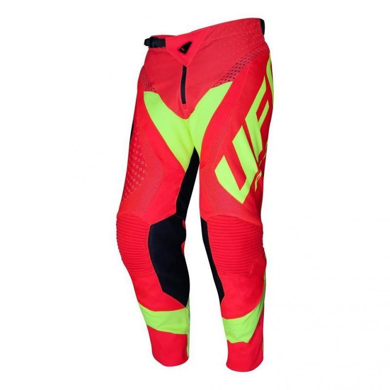 Pantalon cross UFO Proton rouge