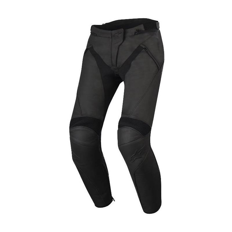 Pantalon cuir femme Alpinestars STELLA JAGG noir