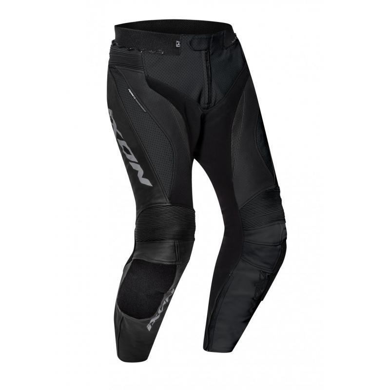 Pantalon cuir Ixon Falcon noir