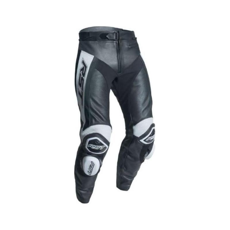 Pantalon cuir RST Tratech Evo R blanc