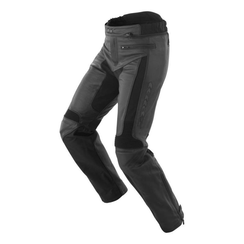 Pantalon cuir Spidi TEKER LEATHER noir