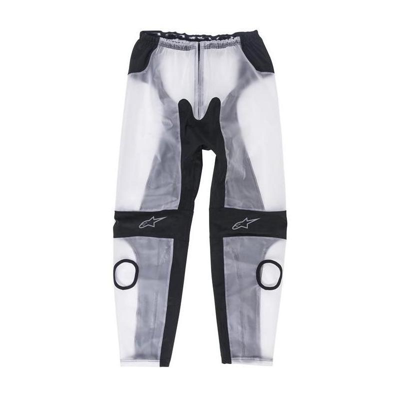 Pantalon de pluie Alpinestars Racing Rain transparent/noir