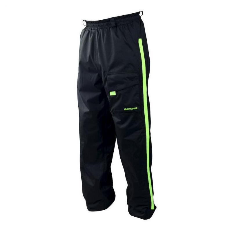Pantalon de pluie Bering Chicago noir/fluo