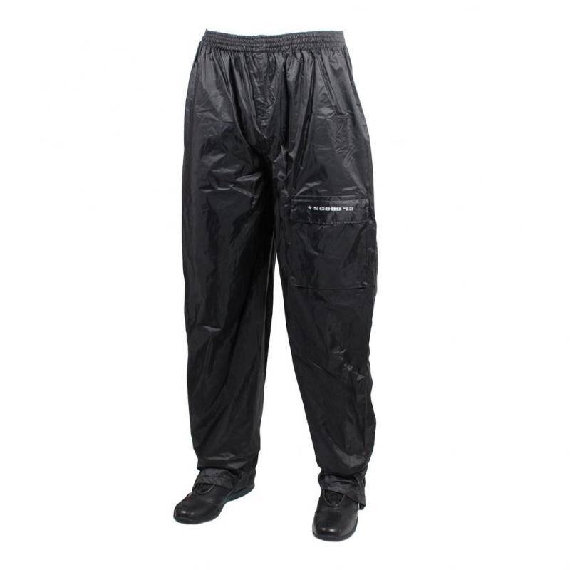 Pantalon de pluie Sceed 42 noir avec doublure
