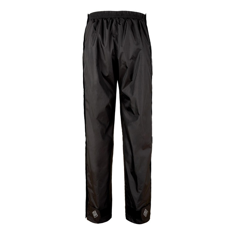 Pantalon de pluie Tucano Urbano Diluvio zip latéral noir