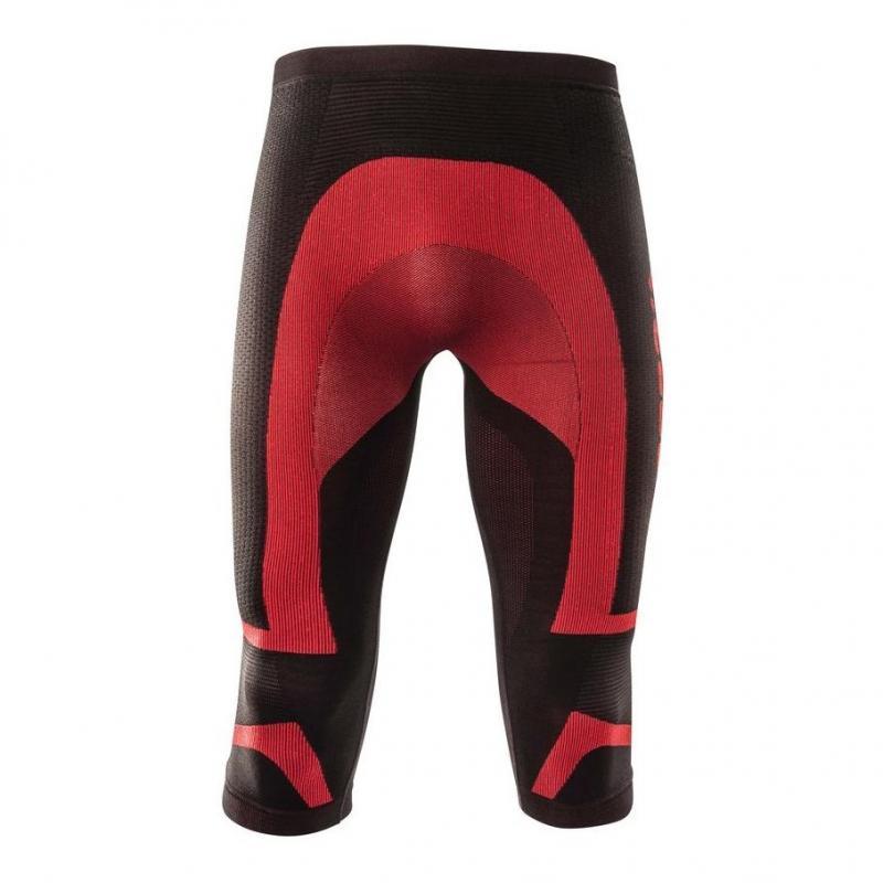 Pantalon de protection Acerbis X-Body Summer Pants noir/rouge