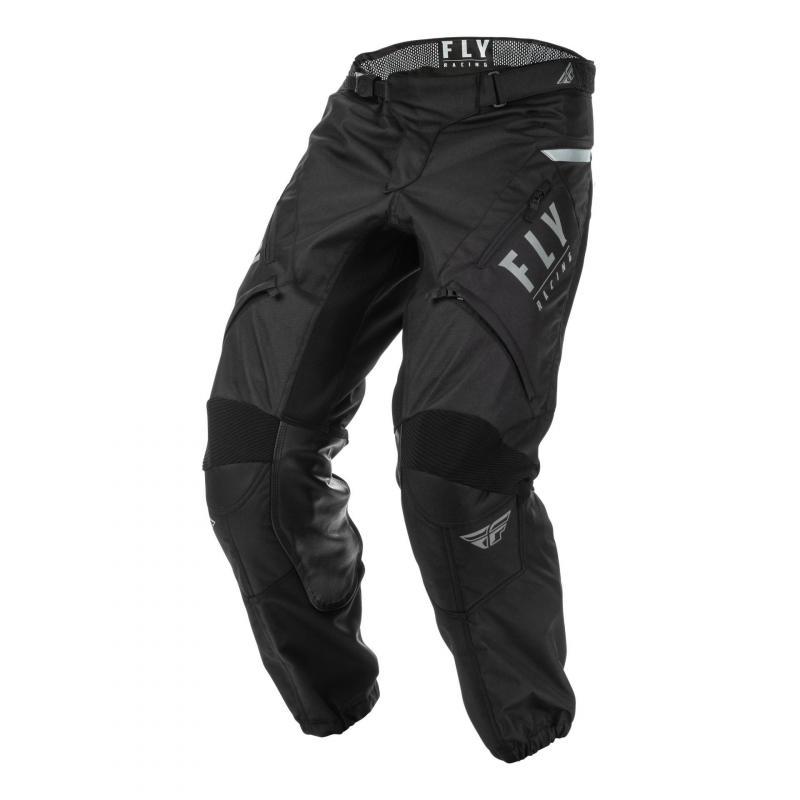 Pantalon enduro Fly Racing XC Patrol noir/gris