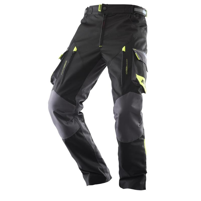 Pantalon enduro Kenny Évasion noir/gris/jaune fluo