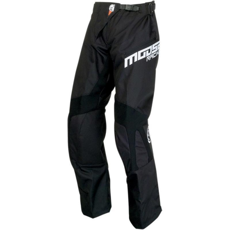 Pantalon enduro Moose Racing Qualifier OTB noir/blanc