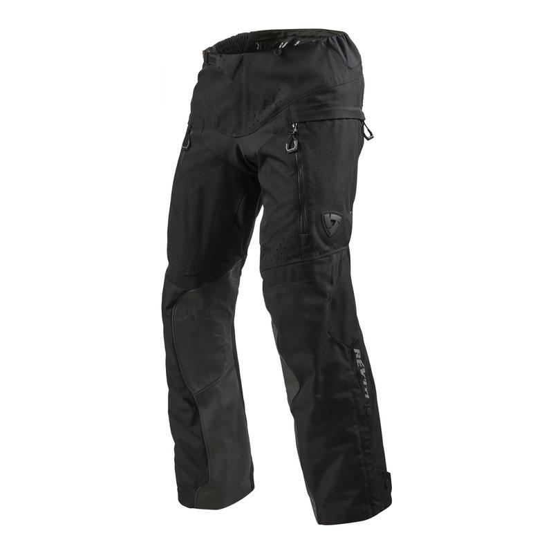 Pantalon enduro textile Rev'it Continent (long) noir